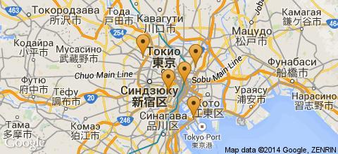 Отели Токио