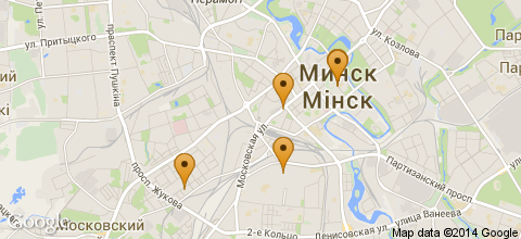 Отели Минска